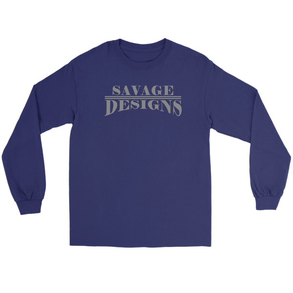 Savage Designs Classic Modern Grey Long Sleeve- 9 Colors