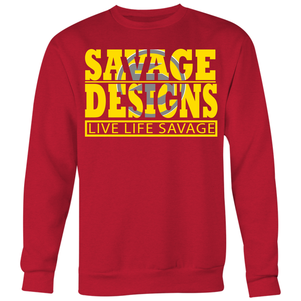 The Savage Within Yellow/Grey Sweatshirt- 7 Colors
