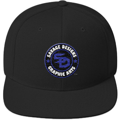 Savage Designs Snapback Royal Blue/Black/White- 7 Colors