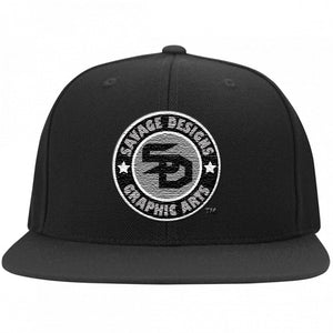 Savage Designs Snapback Silver/Black/White- 6 Colors