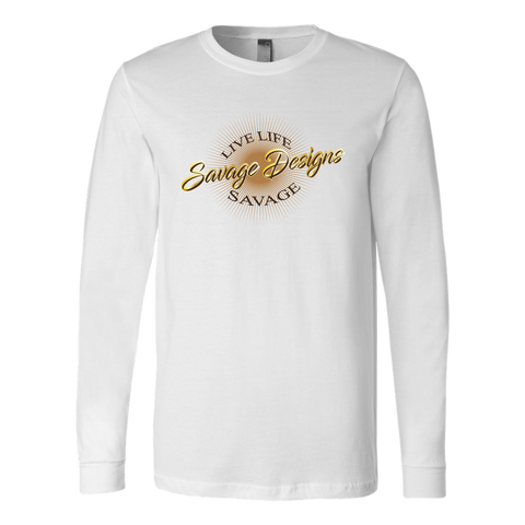Savage Designs Sunray Flare Brown, Gold and Tan Long Sleeve- 2 Colors