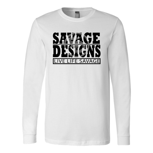 The Savage Within Black/Grey Long Sleeve- 9 Colors