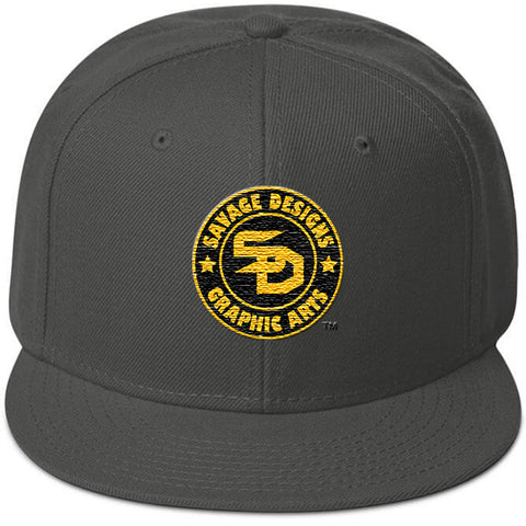Savage Designs Snapback Black and Gold- 2 Colors
