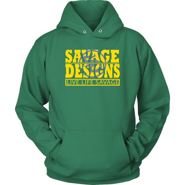 The Savage Within Yellow/Grey Hoodie- 10 Colors