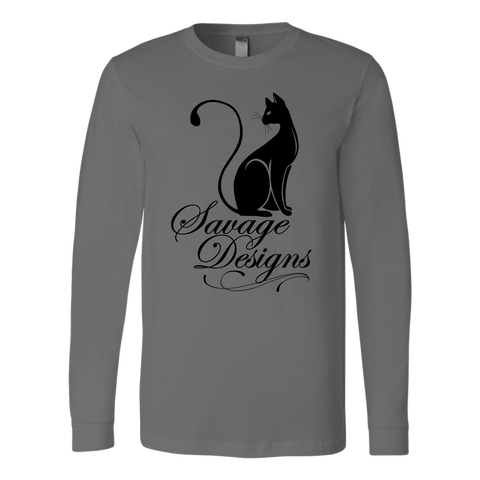 Savage Designs Lady Kitten Black Long Sleeve- 10 Colors