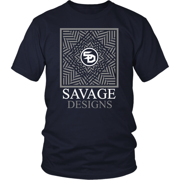 Savage Designs Optical Illusion Grey/White- 8 Colors