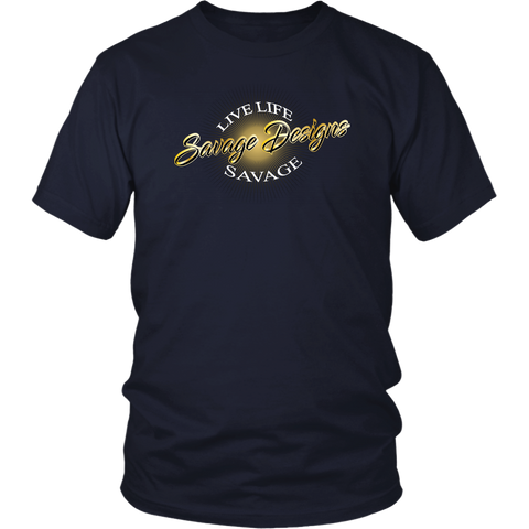 Savage Designs Sunray Flare Black and Gold- 11 Colors