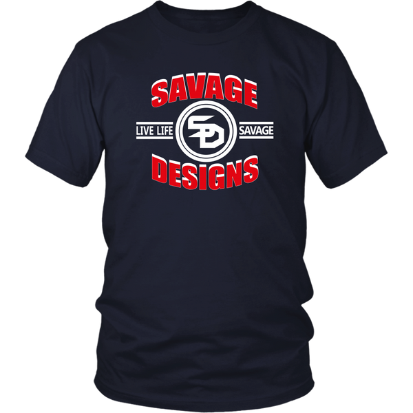 Savage Designs Dead Focus Red/White- 8 Colors