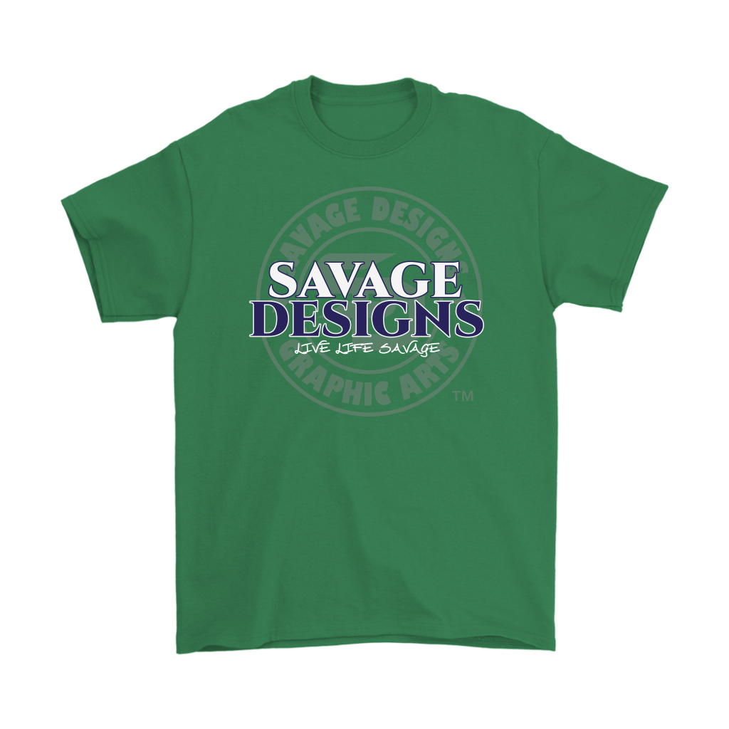 Savage Designs Faded Symbol White/Navy/Grey- 7 Colors