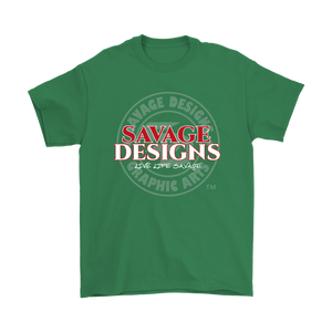 Savage Designs Faded Symbol Red/White/Grey- 7 Colors