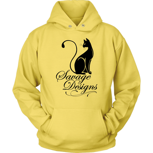Savage Designs Lady Kitten Black Hoodie- 9 Colors