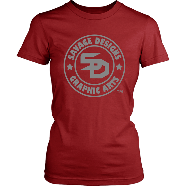 Savage Designs Original Symbol/Live Life Savage Front and Back Print- 7 Colors