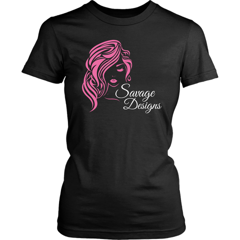 Savage Designs Women's Beauty Pink/White- 6 Colors