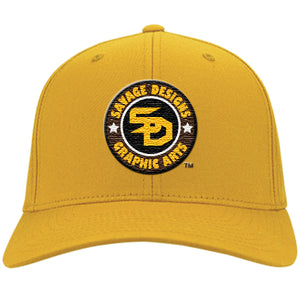 Savage Designs Cap Brown/Gold/White/Black- 5 Colors