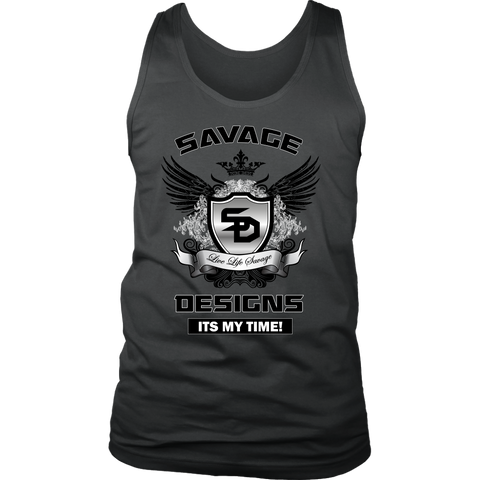 Savage Designs Shield and Wings Tank Top- 1 Color