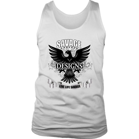 Savage Designs Screeching Falcon Tank Top- 1 Color
