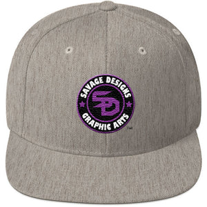 Savage Designs Snapback Purple/Black/White- 7 Colors