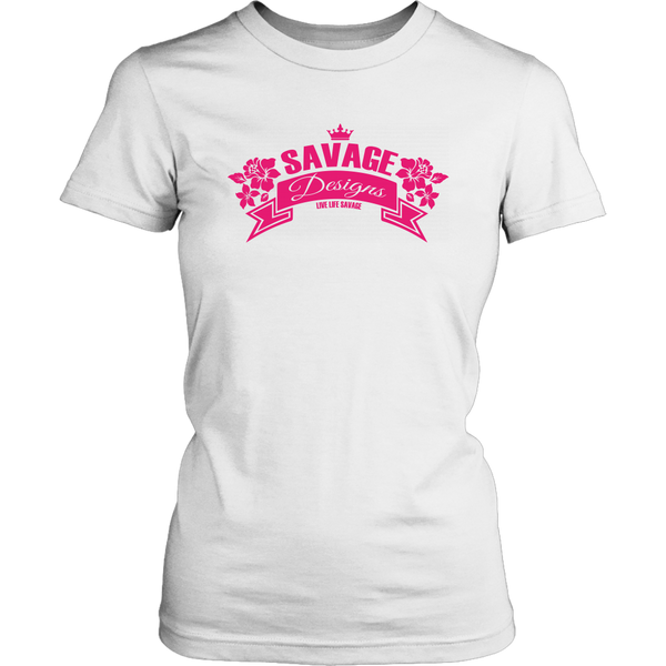 Savage Designs Royal Blossom Hot Pink- 8 Colors