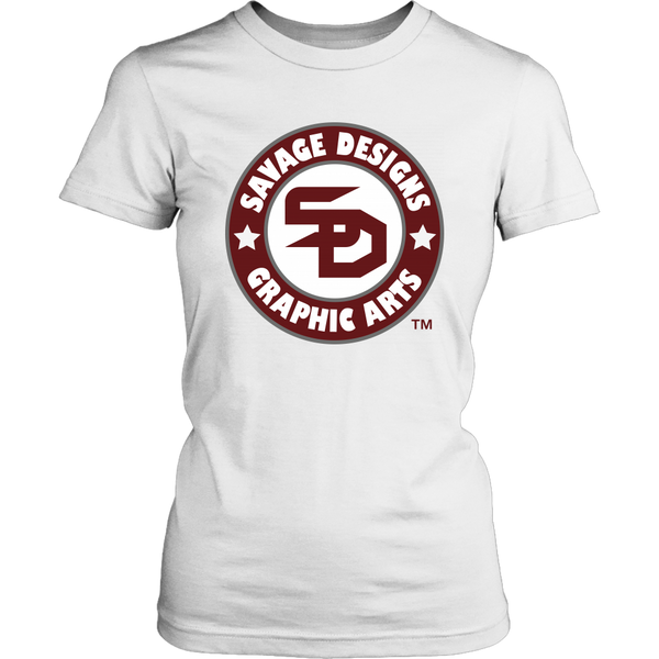 Savage Desihns Symbol Patch Burgundy/White/Grey- 3 Colors