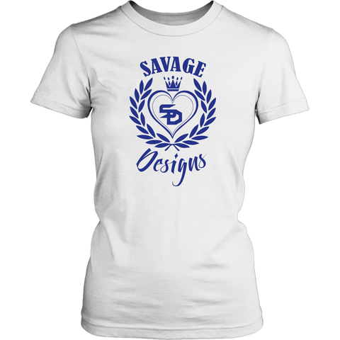 Savage Designs Heart of Hearts Royal Blue- 5 Colors