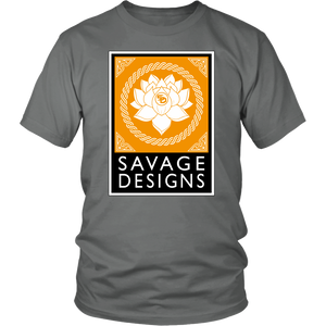 Savage Designs Lotus Flower Gold/White/Black- 8 Colors
