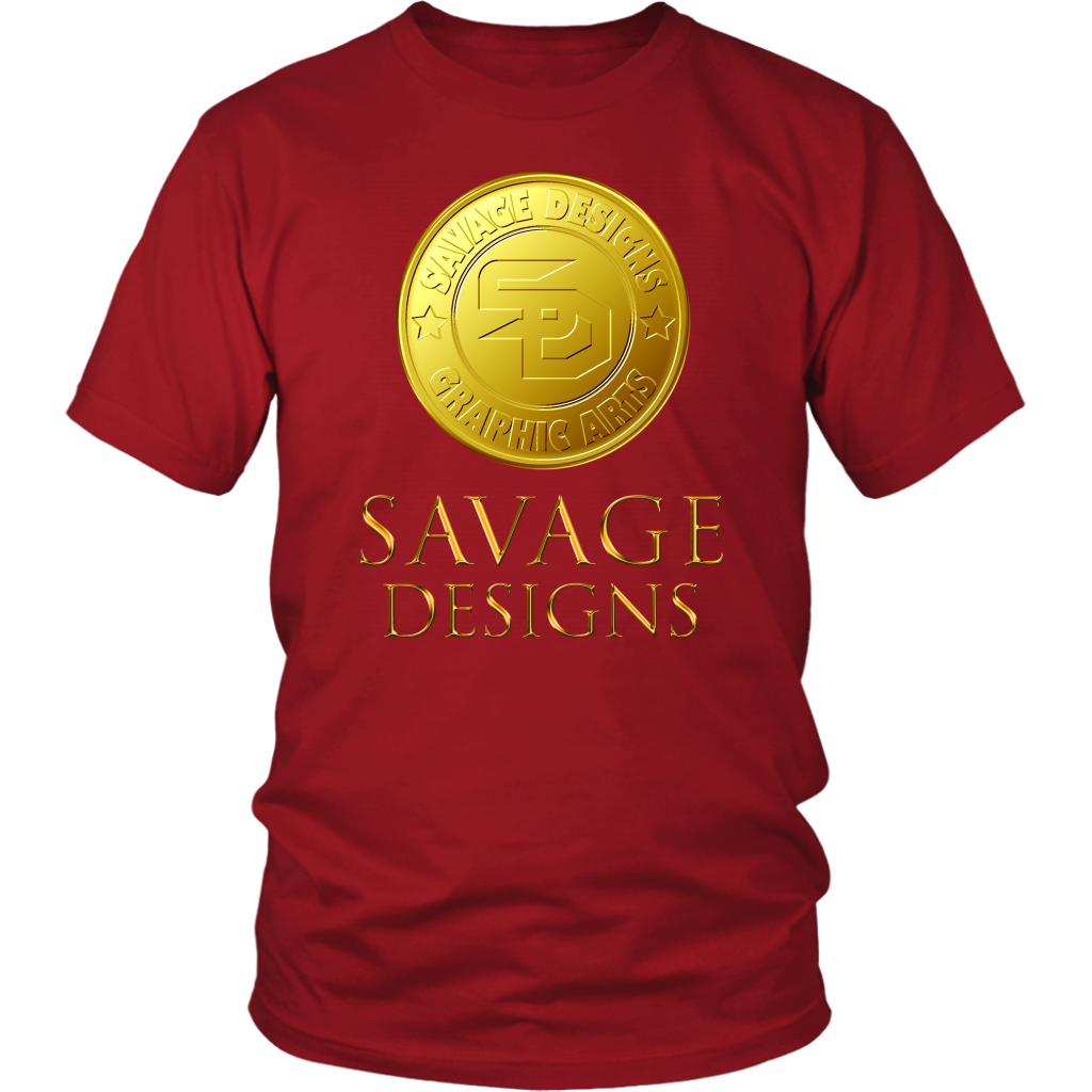 Savage Designs Gold Coin Medallion- 9 Colors