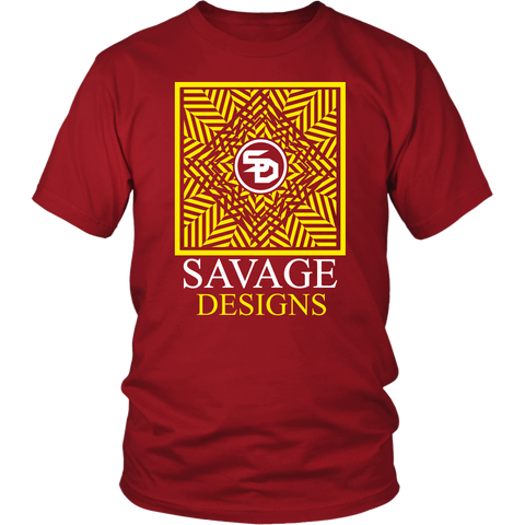 Savage Designs Optical Illusion Yellow/White- 13 Colors