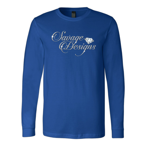 Savage Designs Women's Diamonds Long Sleeve- 5 Colors