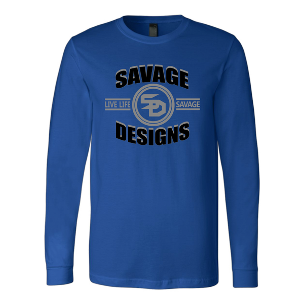 Savage Designs Dead Focus Black/Grey Long Sleeve- 8 Colors