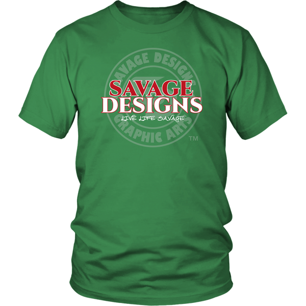Savage Designs Faded Symbol- 6 Colors