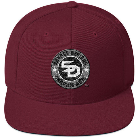 Savage Designs Snapback Original Symbol Patch- 8 Colors