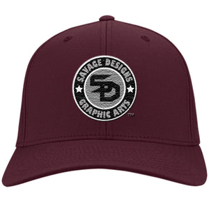 Savage Designs Cap Silver/Black/White- 5 Colors