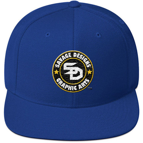 Savage Designs Snapback Black/Gold/White- 8 Colors