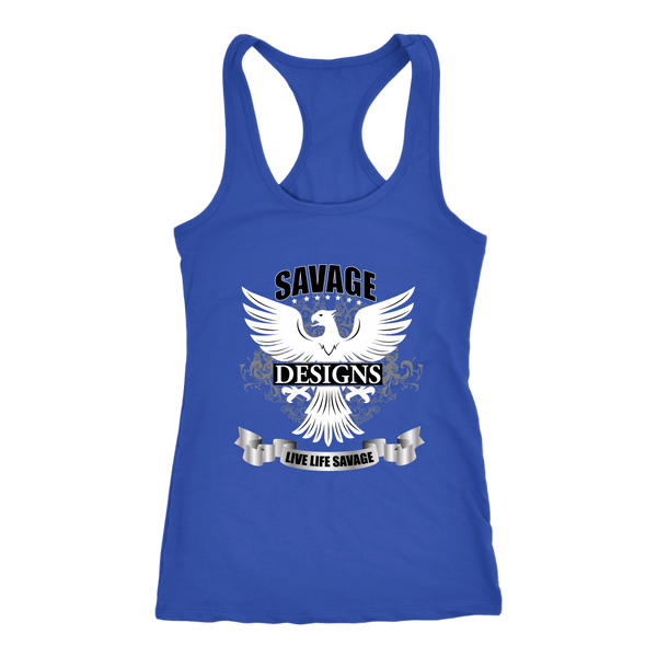 Savage Designs Screeching Falcon Tank Top- 8 Colors