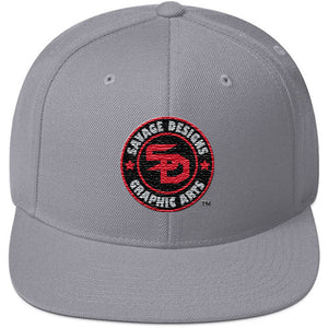 Savage Designs Snapback Black/Grey/Red- 7 Colors