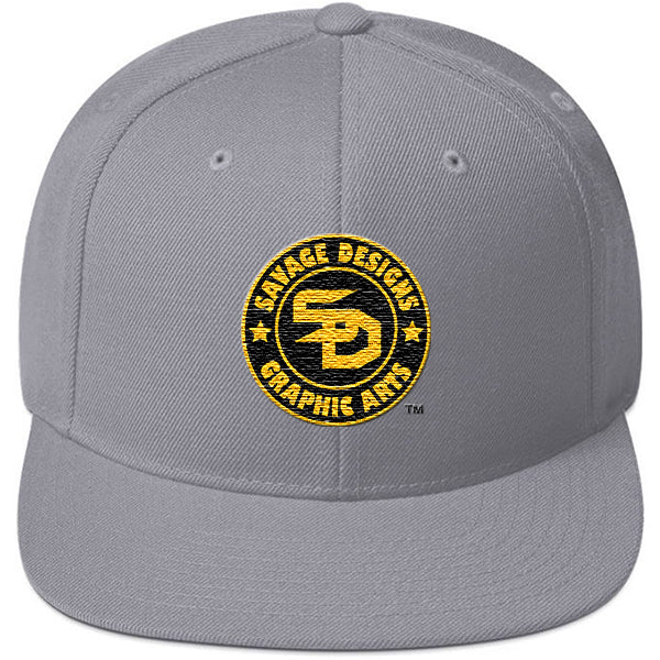 Savage Designs Snapback Black and Gold- 8 Colors
