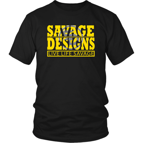 The Savage Within Yellow/Grey- 10 Colors