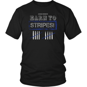 Savage Designs EARN YO STRIPES Grey/Royal Blue/White- 1 Color