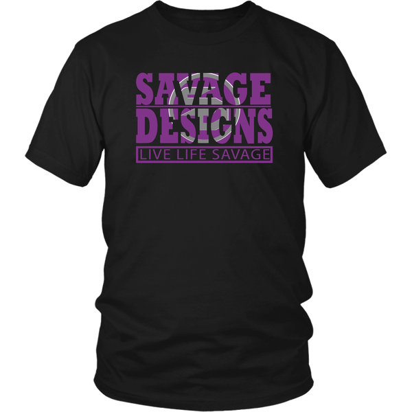 The Savage Within Purple/Grey- 6 Colors