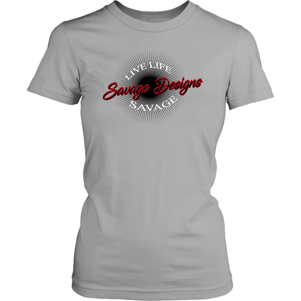 Savage Designs Sunray Flare Black and Red- 12 Colors