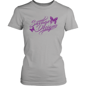 Savage Designs Butterfly Elegance Purple- 6 Colors