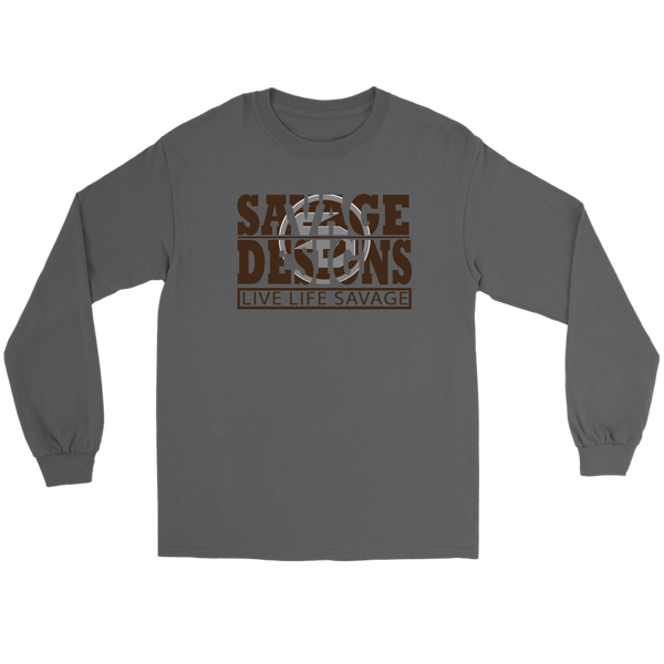 The Savage Within Brown/Grey Long Sleeve- 5 Colors