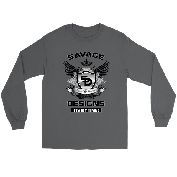 Savage Designs Shield and Wings Long Sleeve- 2 Colors