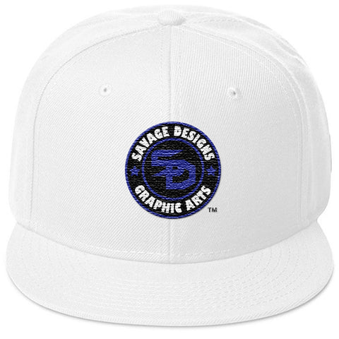 Savage Designs Snapback Royal Blue/Black/White- 2 Colors