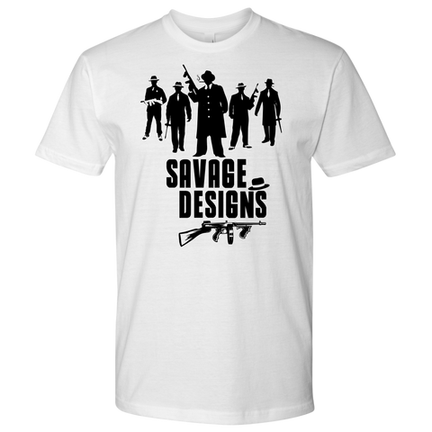 Savage Designs Mob Mafia T-shirt Black- 11 Colors