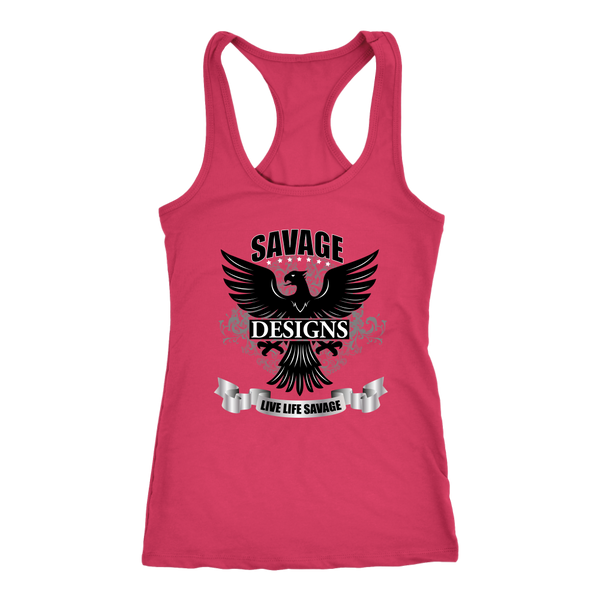 Savage Designs Screeching Falcon Tank Top- 10 Colors