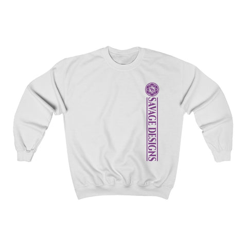 Savage Designs Egyptian Seed of Life Purple Sweatshirt- 8 Colors