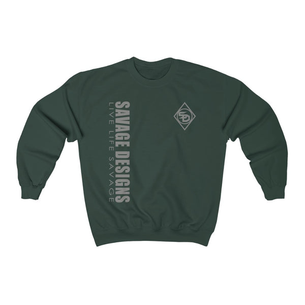 Savage Designs Triple Threat Grey Sweatshirt- 10 Colors