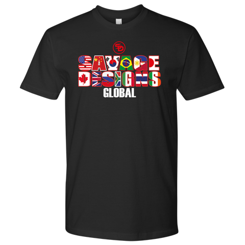 Savage Designs Global Text Only