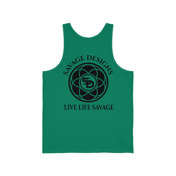 Savage Designs Egyptian Seed of Life Black Tank Top- 10 Colors